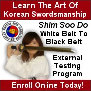 Grand Master James S. Benko Korean Swordsmanship Program