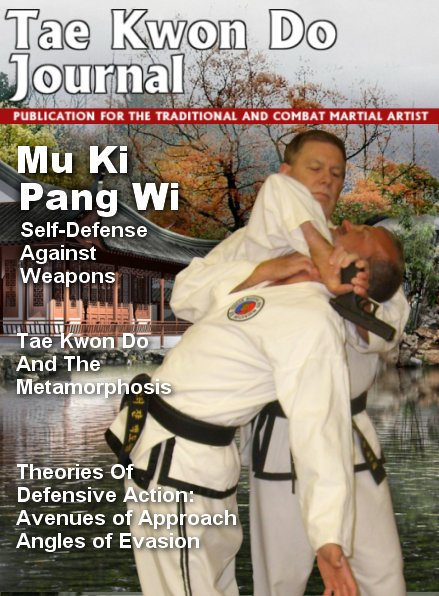 Tae Kwon Do Journal Cover Page Grand Master James S. Benko
